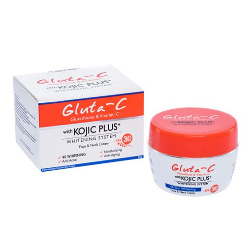 Gluta-C Face and Neck Cream with Kojic Plus+ Whitening System_Pr