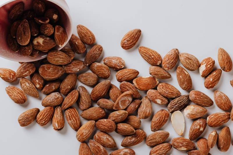 almonds for almond oil treatment